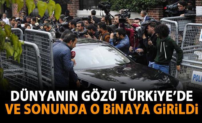 Dünyanın gözü Türkiye'de! Ve sonunda o binaya girildi!