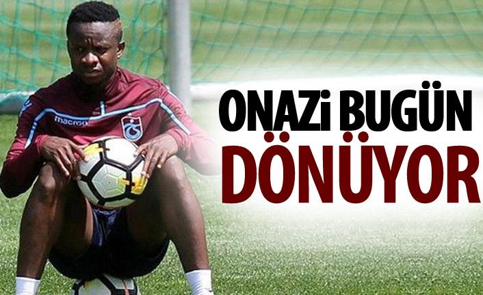 Onazi Trabzon'a dönüyor