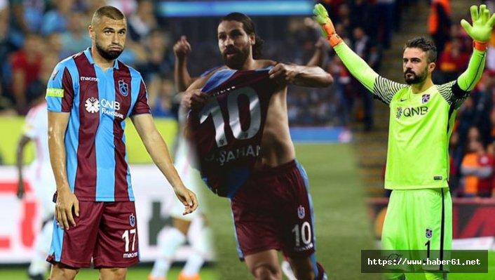 Trabzonspor'un yıldızları imzayı atıyor
