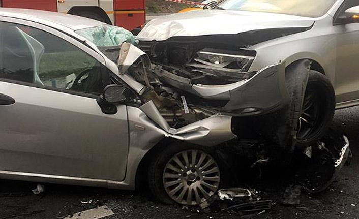 İstanbul'da kaza : 2 yaralı