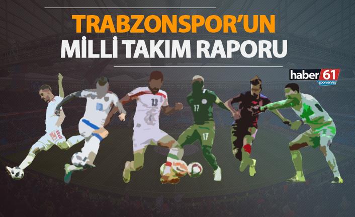 Trabzonspor'un millileri neler yaptı?