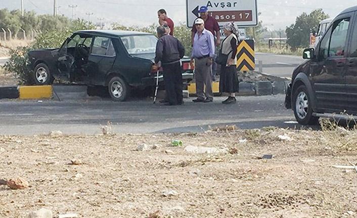 Milas'taki kazada 1 kişi yaralandı