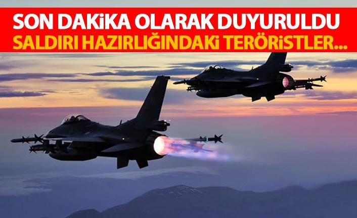 TSK'dan son dakika açıklaması! 'Saldırı hazırlığındaki teröristler...'