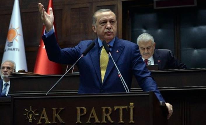"""Cumhurbaşkanı Erdoğan: """"Tepesine bineceğiz"""""""