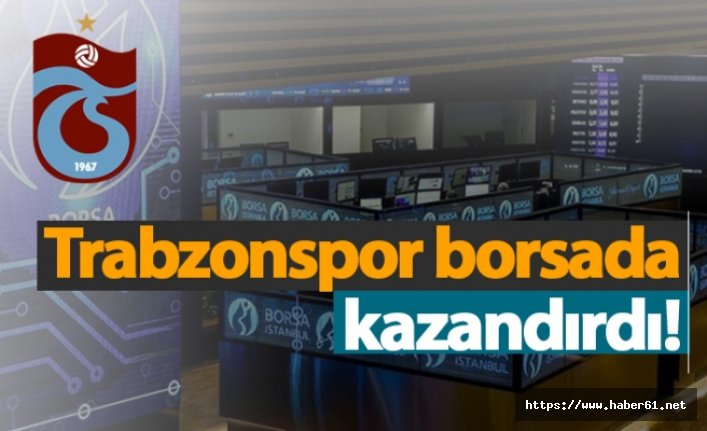Trabzonspor borsada kazandırdı!