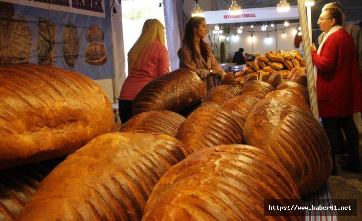 Fuarın yıldızı Trabzon'dan giden ekmek