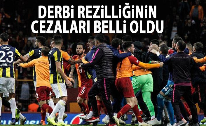 Fenerbahçe ve Galatasaray'ın cezaları belli oldu