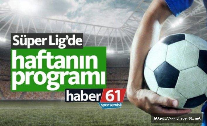 Spor Toto Süper Lig'de 12. haftanın programı ve Süper Lig puan durumu