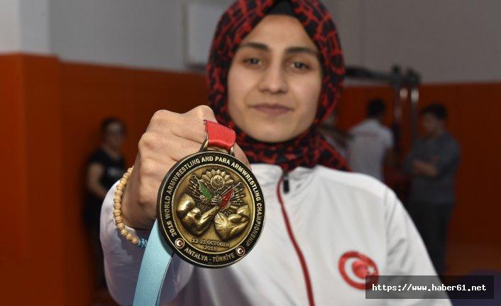 Gümüşhane'ye dünya şampiyonluğunu getirdi!