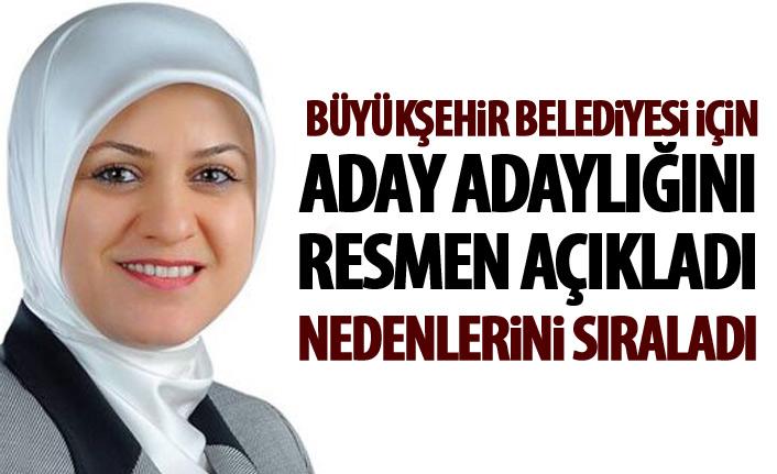 Ayşe Sula Köseoğlu aday adaylığını açıkladı
