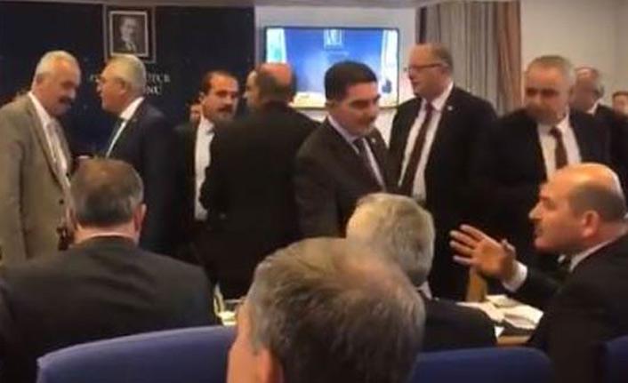 Komisyonda gerginlik! Soylu HDP'li vekillere haddini bildirdi!