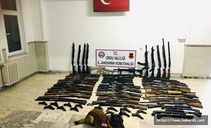 Ordu'da jandarma aranan 109 kişiyi yakaladı