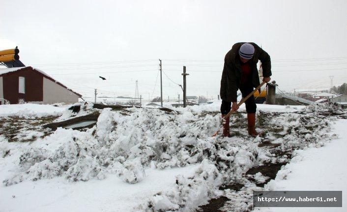 Doğu'da 6 aylık kar esareti başladı