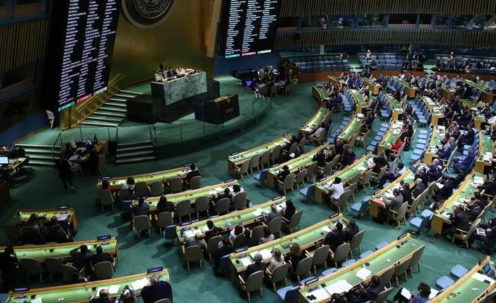 Myanmar kararına BM'de büyük destek