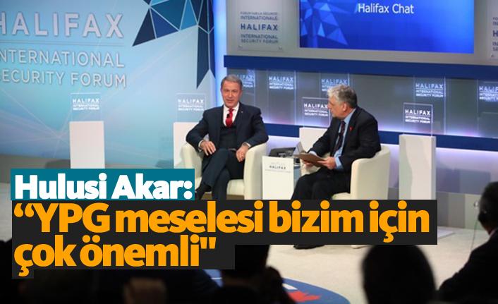 """Akar: """"YPG meselesi bizim için çok önemli"""""""
