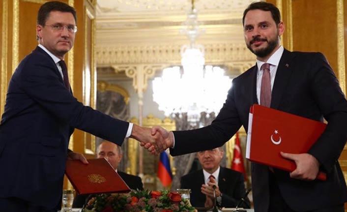 Berat Albayrak'tan TürkAkım paylaşımı