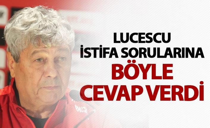 Mircea Lucescu: İşime devam ediyorum