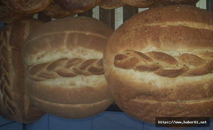 Siirt fırınlarında Vakfıkebir ekmeği