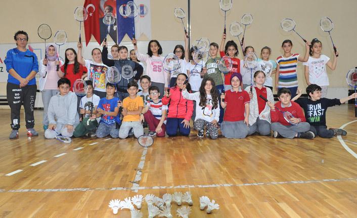 Trabzon'da badmintona hücum!