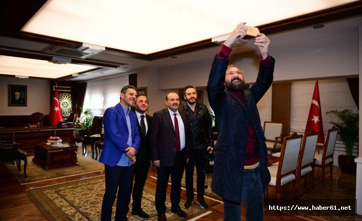 Trabzon'un yeni Valisi İsmail Ustaoğlu Haber61'i kabul etti