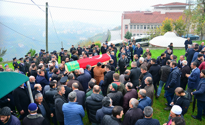 Trabzonlu asker Son yolculuğuna uğurlandı