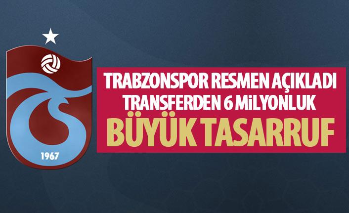 Trabzonspor resmen açıkladı! Transfer ayrıntısı dikkat çekti!