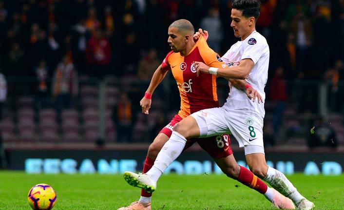 Galatasaray Konya ile berabere