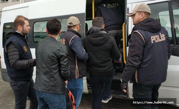 Trabzon dahil 14 ilde eş zamanlı operasyon