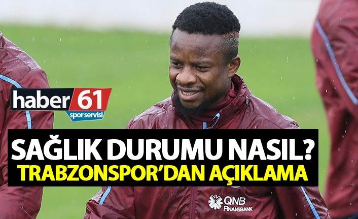 Trabzonspor'dan Onazi açıklaması - Sağık durumu nasıl?