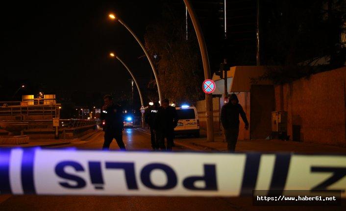 Avusturya Büyükelçiliği önünde silah sesleri