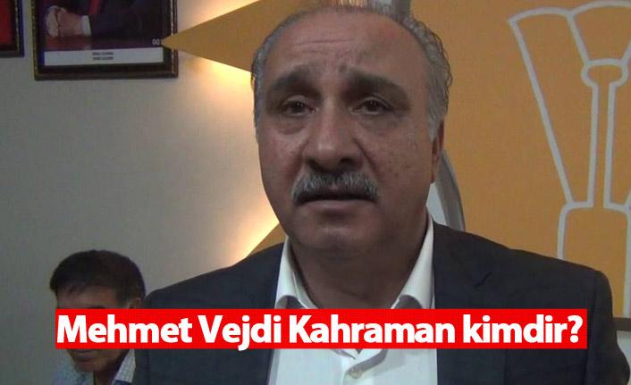 AK Parti Mardin Belediye Başkan adayı Mehmet Vejdi Kahraman kimdir?