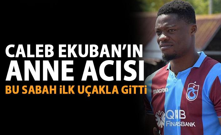 Trabzonsporlu futbolcunun acı günü