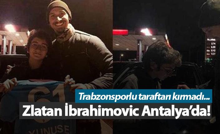 Zlatan İbrahimovic Antalya'da!
