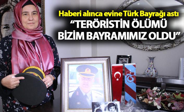 """Binbaşı Kulaksız'ın eşinden açıklama - """"Teröristin ölümü bizim bayramımız oldu"""""""
