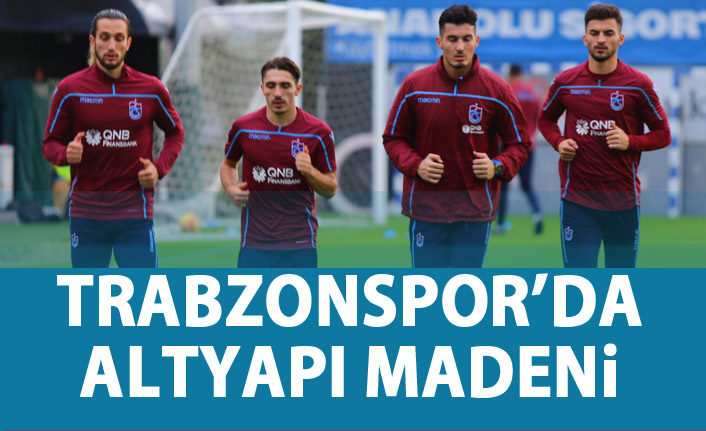Trabzonspor'da altyapı madeni