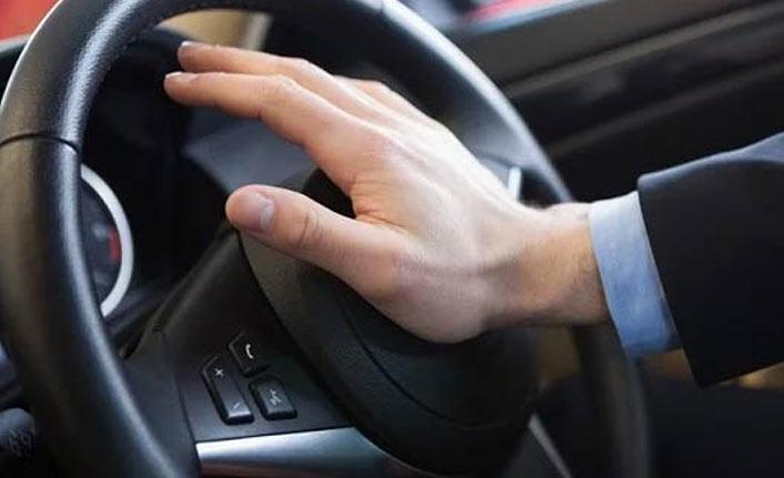 Araç sahiplerine korna uyarısı