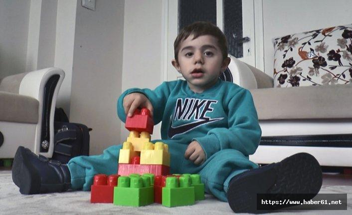'Ömer bebek yaşasın' diye ilik nakli bekleniyor