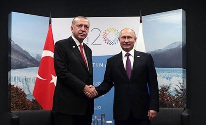 Erdoğan'dan Putin görüşmesi sonrasında ilk mesaj