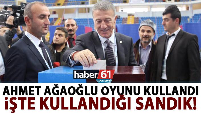 Ahmet Ağaoğlu oyunu kullandı