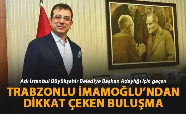 İmamoğlu İstanbul'da başkanlarla buluştu