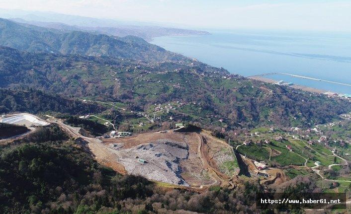 Trabzon'da çöp artışı!