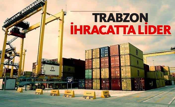 Trabzon ihracatta lider
