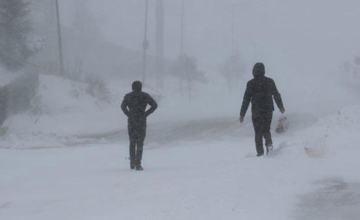 Uludağ'da kar kalınlığı 11 santimetreye ulaştı