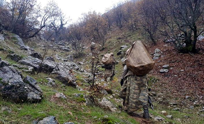 PKK'nın kış sığınakları imha edildi