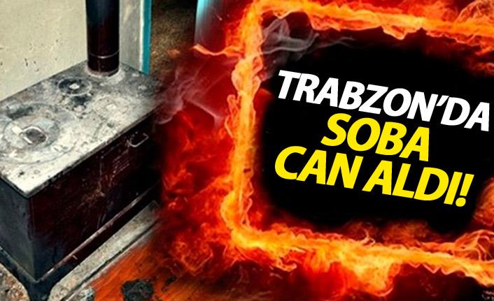 Trabzon'da soba can aldı
