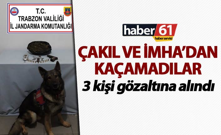 Trabzon'da tacirler çakıl ve imhadan kaçamadı