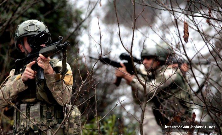Karadeniz'deki teröristlere destek için geldiler yalınayak kaçtılar