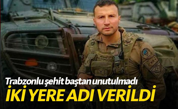 Trabzonlu şehit Bahattin Baştan unutulmadı