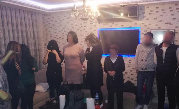 Ankara'da fuhuş operasyonu: 13 gözaltı