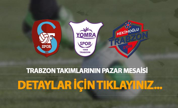 TFF 3. Lig'de Trabzon takımları Pazar Mesaisi!